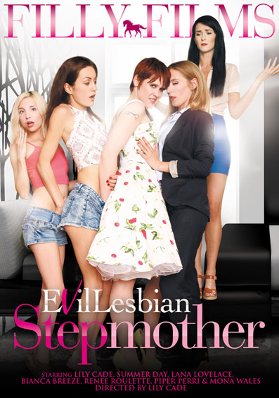 Evil Lesbian Stepmother DVD front cover