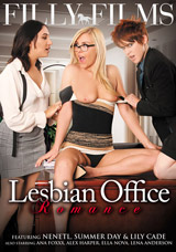 Lesbian Office Romance DVD front cover