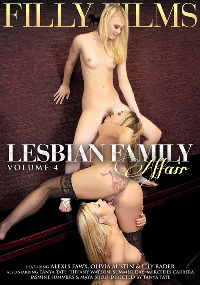 Lesbian Family Affair #4 DVD front cover