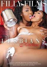 Lesbians In The Kitchen DVD front cover