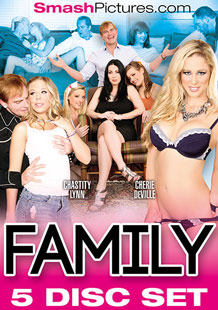 Family 5 Disc Set - Front Cover